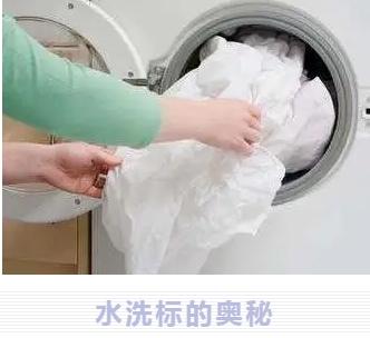 衣物洗护小贴士 | 水洗标的奥秘
