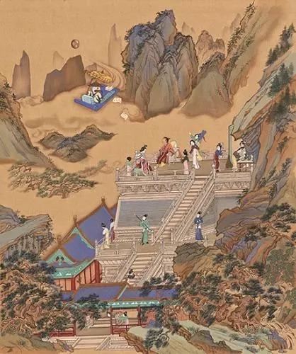古人也有次元情节:古画里为何出现无人机、潜水艇、卡通人物?