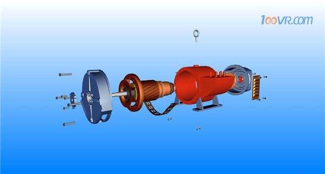职教3D展示直流电机调速过程,这次真看清了!