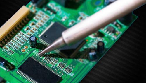 PCB制作与焊接虚拟仿真实训室封面