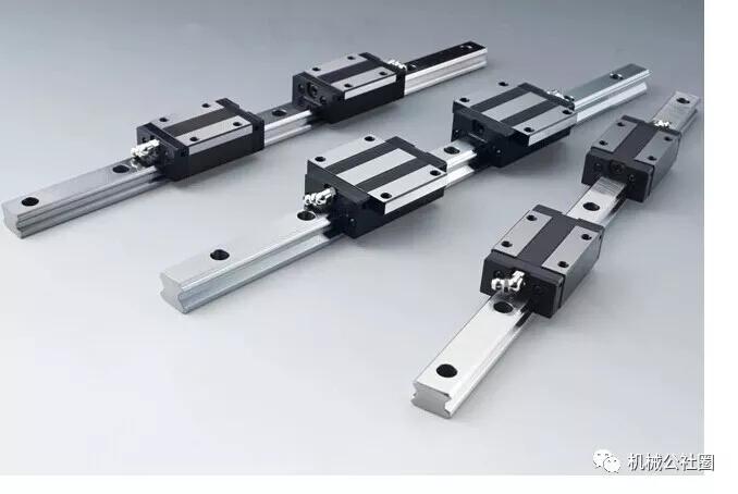 机床设计:滚动直线导轨副的技术特性