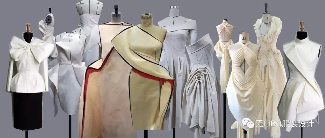 服装设计中的黑科技—创意立裁