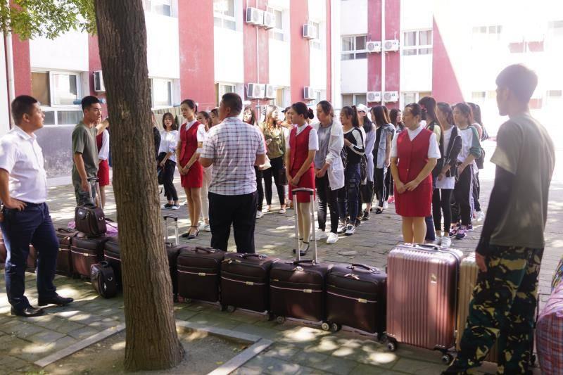 尚义职教中心首届高铁专业学生赴北京实习实训