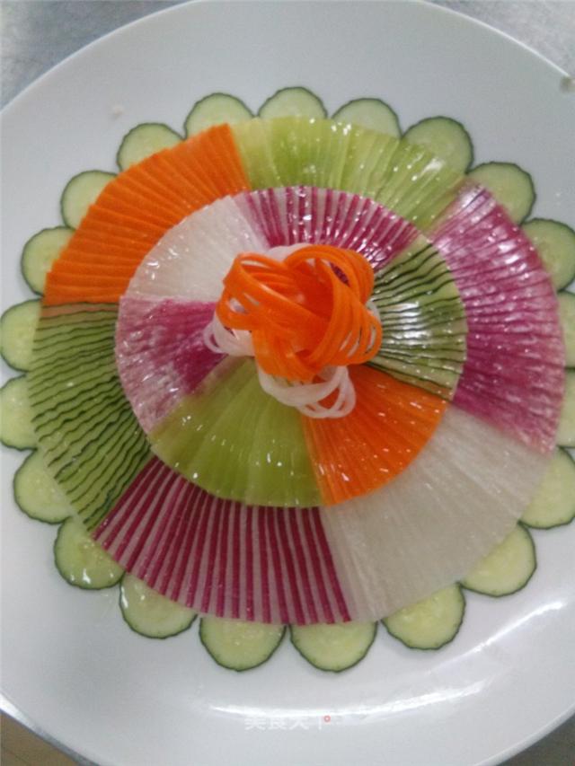 冷拼菜最早竟然在这个朝代?宴会必备,最简单的入门级花式冷拼学起来